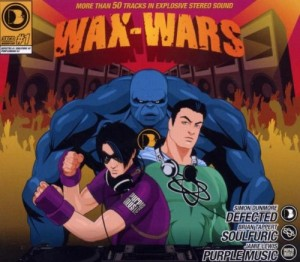 V.A. Wax wars 3xCD Defected / PIAS