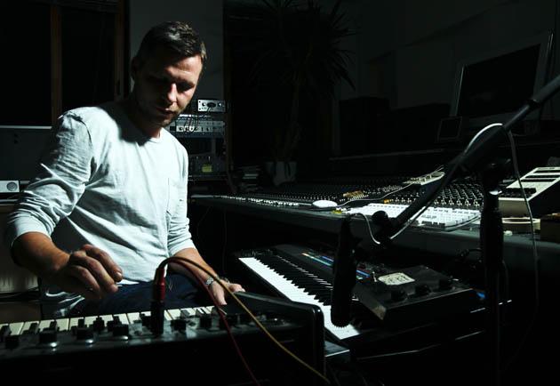 Martin Buttrich Crash Test Album im Studio