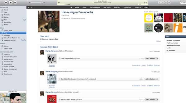 iTunes 10 bringt mit Ping Social Media in die Jukebox