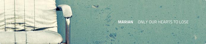 Marian. Fabian Reichelt und Marek Hemmann Album Techno und Haus Pop aus Jena