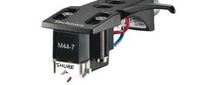 Shure M447 auf Technics Headshell montiert
