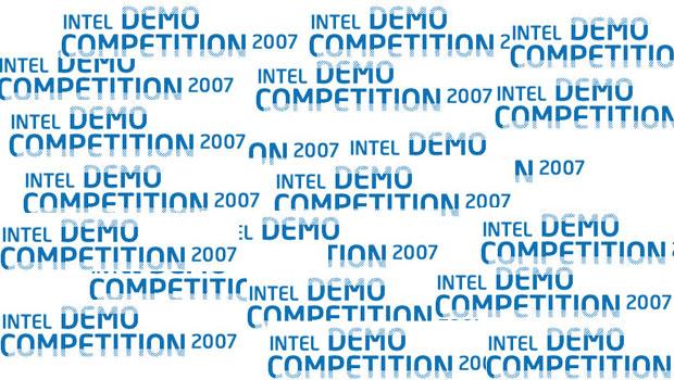 bild der intel demo competition 2007