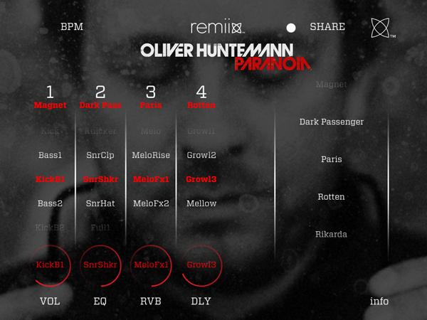 Remiix Oliver Huntemann iOS App