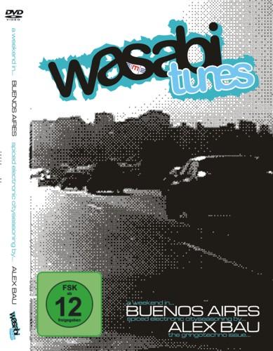Cover der Wasabi Tunes DVD von Alex Bau