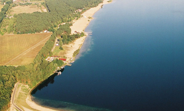 Luftaufnahme Helenesee