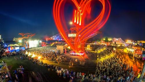 Sonntagabend endete nach drei friedlichen Festivaltagen das Melt! Festival 2013 in Ferropolis, Gräfenhainichen.