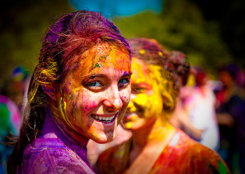 Holifestival of Colours, copyright tibchris