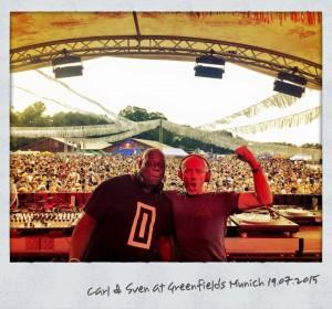 Sven und Carl haben Spaß in München