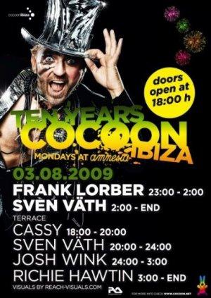 Cocoon Ibiza Frank Lorber