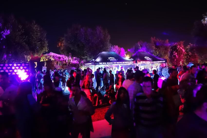 Oasis Festival Marrakech, Morocco, 2016. Jack Daniels Tents.