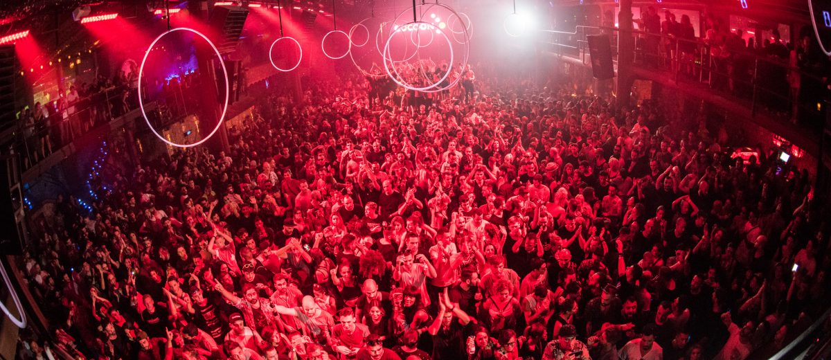 Cocoon crowd at Amnesia