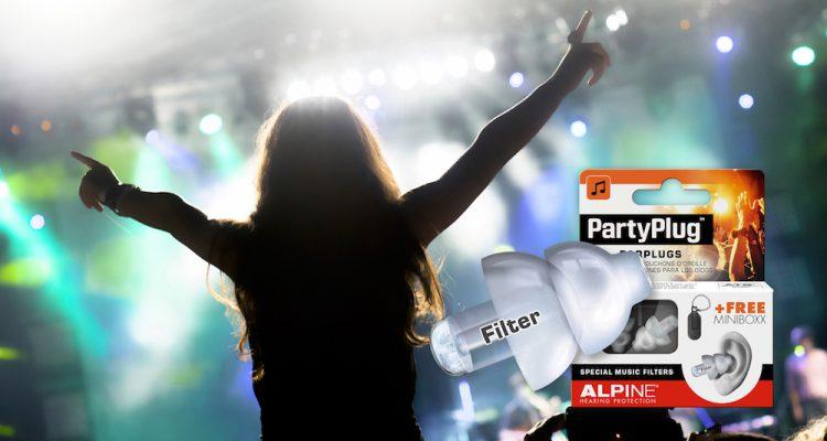 Free Tickets für Berlin, Beats & Boats mit Alpine PartyPlug Gehörschutz